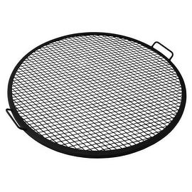 Sunnydaze X-Marks Fire Pit Cooking Grill - Multiple Sizes Available