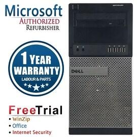 Refurbished Dell OptiPlex 990 Tower Intel Core I5 2400 3.1G 8G DDR3 320G DVD Win 7 Pro 64 Bits 1 Year Warranty