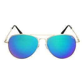 Barry Mirror Aviator Sunglasses