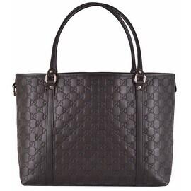 NEW Gucci $1,295 265695 Brown Leather Guccissima GG Joy Purse Handbag Tote