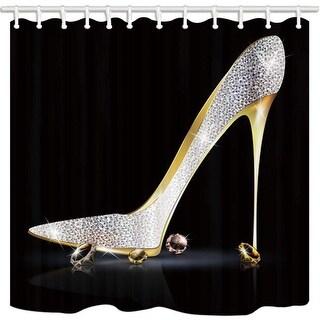 Fashion Lady High Heel Shoe Shower Curtain