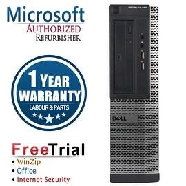 Refurbished Dell OptiPlex 390 Desktop Intel Core I5 2400 3.1G 8G DDR3 1TB DVDRW Win 7 Pro 64 Bits 1 Year Warranty