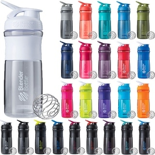 Blender Bottle SportMixer 28 oz. Tritan Grip Shaker Sport Mixer Cup