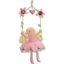 Gund Wall-to-Wall Plush Fairy on Swing 9.5 Inch