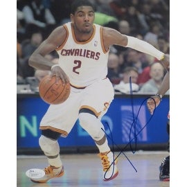 Kyrie Irving Autographed Cleveland Cavaliers Signed 8x10 Basketball Photo JSA COA Photo