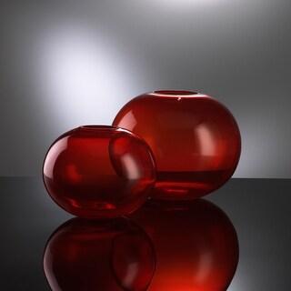 "Cyan Design 00971 7.5"" Small Red Pod Vase"