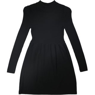 Free People Womens No Belt Sweater Mini Dress
