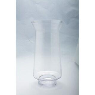 16 Hurricane Handblown Glass Pillar Candle Holder