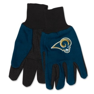 Los Angeles Rams Two Tone Adult Size Gloves