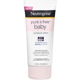 Neutrogena Pure & Free Baby Sunblock Lotion SPF 60+ 3 oz