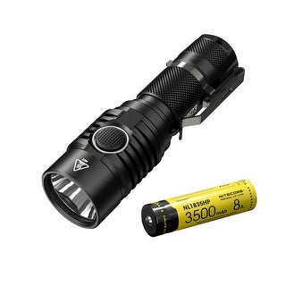 NITECORE MH23 1800 Lumen USB Rechargeable Compact Flashlight with Recharegeable Battery