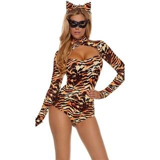Cat's Meow Costume - Orange