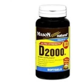 Mason Natural D 2000 IU Softgels Ultra Strength 300 Soft Gels