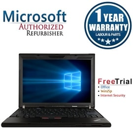 "Refurbished Lenovo ThinkPad X201 12.1"" Laptop Intel Core I5 520M 2.4G 4G DDR3 500G Win 7 Professional 64 1 Year Warranty"