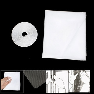 1.5M X 1. Square Shape DIY Fly Screen w Adhesive Tape