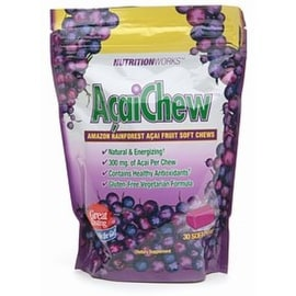 Nutritionworks AcaiChew, Amazon Rainforest Acai Fruit 30 ea