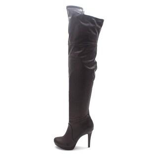 Thalia Sodi Womens blair Almond Toe Knee High Fashion Boots