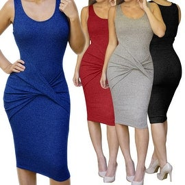 Womens Summer Sexy Bodycon Midi Bandage Dress Party Evening Beachwear Prom Dress
