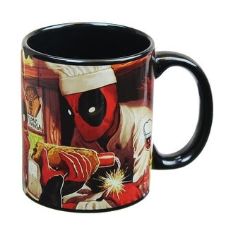 Dead Pool 12oz Atomic-Changa Coffee Mug - Multi