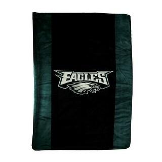 Denali Philadelphia Eagles Football Micro Raschel Plush Throw Blanket - 0.25 X 84 X 60 inches