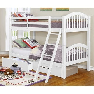 Dianna Convertible Twin over Twin Bunk Bed