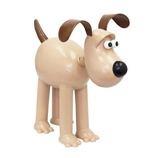 A.Perry Gromit Dog Garden Sculpture - Outdoor Weathersafe Metal Wallace and Gromit Lawn Ornament Statue - Brown - Life Size
