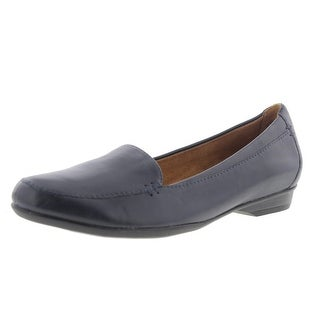 Naturalizer Womens Saban Loafers Solid Round Toe