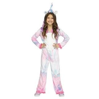 Girls Magical Unicorn Halloween Costume