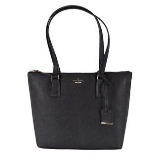 Kate Spade Black Saffiano Leather Cameron Street Lucie Purse Handbag Tote