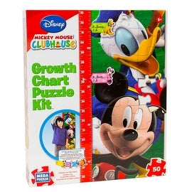 Disney Mickey Mouse Clubhouse Growth Chart Puzzle Kit