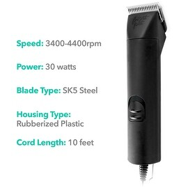 Frontpet 2 Speed Pet Clippers Professional Dog / Pet / Cat / Dog Grooming Clippers / Animal Grooming Tool Kit & Supplies