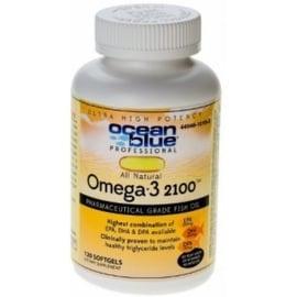 Ocean Blue Omega-3 2100 mg Dietary Supplement Softgels, Natural Orange 120 ea