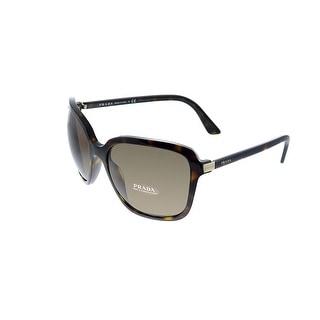 Prada PR 10VS 2AU8C1 58mm Womens Havana Frame Brown Lens Sunglasses