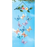 Butterfly Hanging Garden Wind Chime