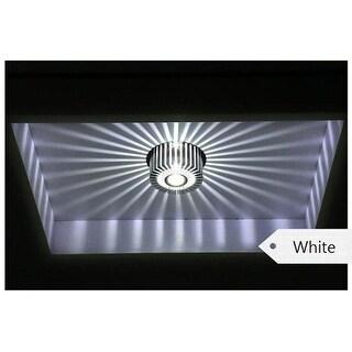 Modern LED Ceiling Light 3W Wall Sconce Gallery Decoration Balcony Lamp Porch Light Corridors Light Fixture White - Medium