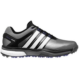 Adidas Men's Adipower Boost Dark Silver Metallic/Running White/Night Flash Golf Shoes Q46922 / Q44633 (MED. ONLY)