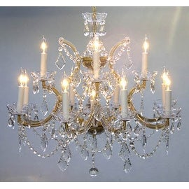 Chandelier Crystal Lighting Chandelier H22 x W28