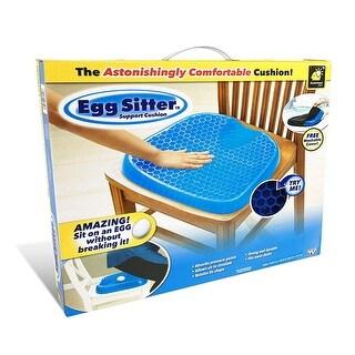 NewAge Summer Gel Honeycomb Egg Seat Cushion Back Support Spine Protector