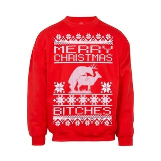Mens Merry Christmas (B-Word) Ugly Sweater