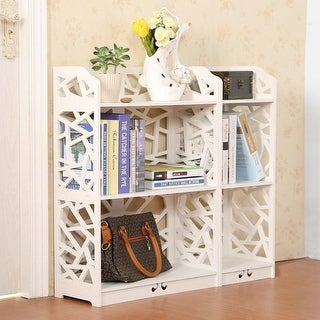 3/4/5 Tier Space Saving Storage Cabinet Organizer Shoe Rack BookShelf