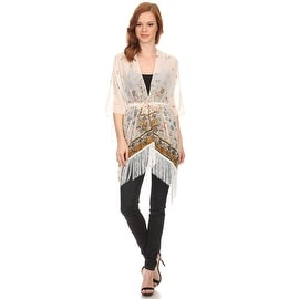 Womens Butterfly Lightweight Poncho