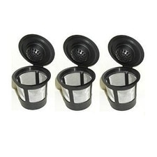 Blendin My K-cup Single Reusable Coffee Filter for Keurig B40,B41,B44,B45,B50,B60,B65,B70,B75,B77,B79,K10,K40,K45,3 Pack