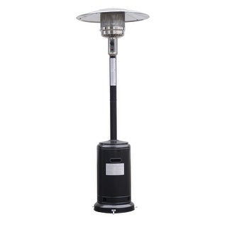 Costway Steel Outdoor Patio Heater Propane Lp Gas W/accessories