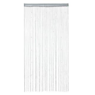 "Room Door Window Polyester Beads Pendant Hangings String Curtain Screen - 39"" x 79"""