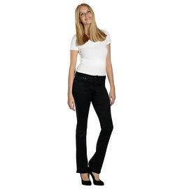 Lola Classic Bootcut Jeans, Lauren-BLK