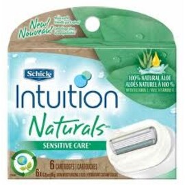 Schick Intuition Naturals Cartridges Sensitive Care 6 Each