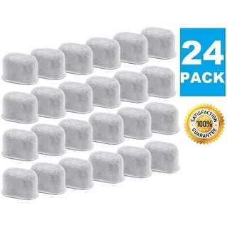 Premium Replacement Charcoal Water Filters for All Keurig Makers & Machines, Replaces Activated Carbon Filter, 1.0 2.0 - 24 Pack