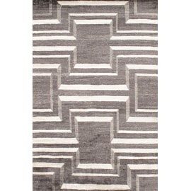 Modern Bamboo Rug - 6' X 9'- By Pasargad NY #D06628