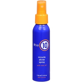 it's a 10 Miracle Shine Spray with Noni Oil 4 oz