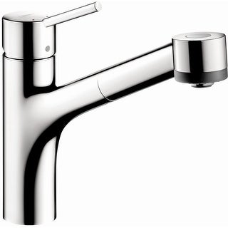 Hansgrohe 06462 Talis S Pull-Out Kitchen Faucet with Locking Spray